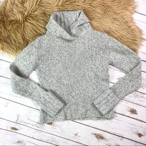 Banana Republic Gray Turtleneck Sweater